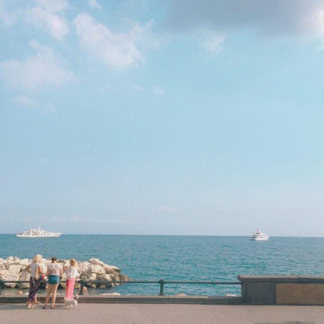 ナポリ湾の景色