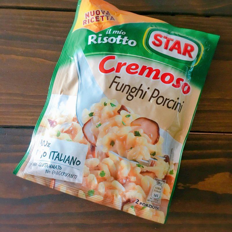 STAR社のポルチーニ味の即席リゾット