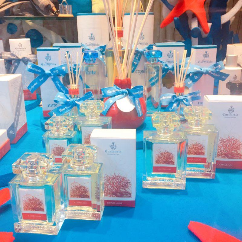 カプリ島発祥の香水ブランドCarthusia(カルトゥージア)