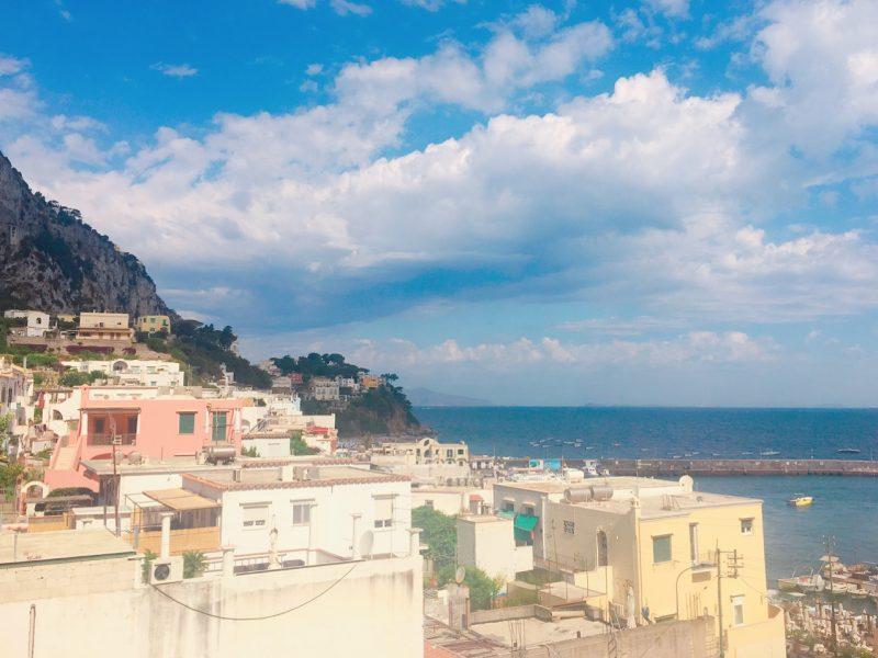 カプリ島の景色