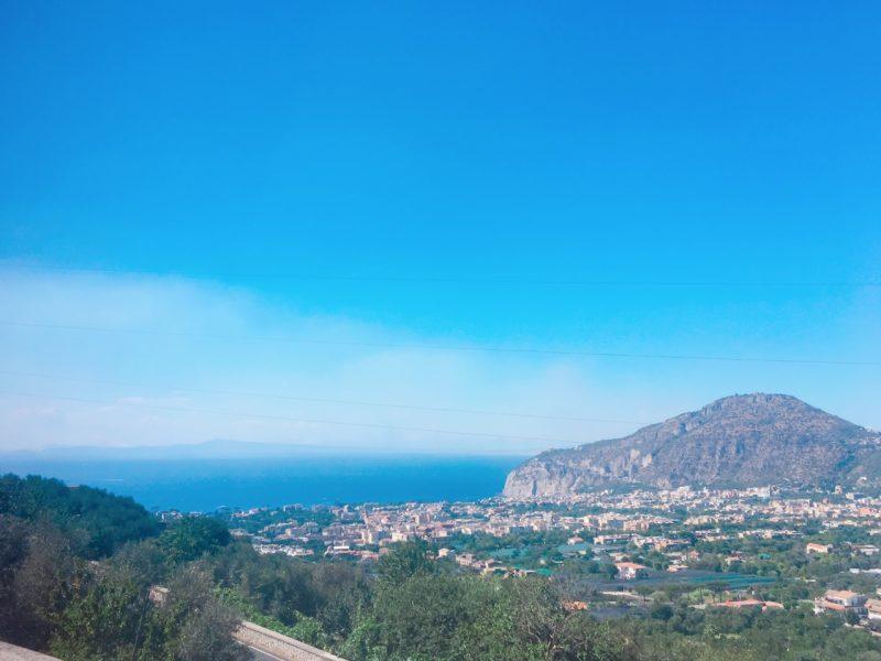 ポジターノの景色