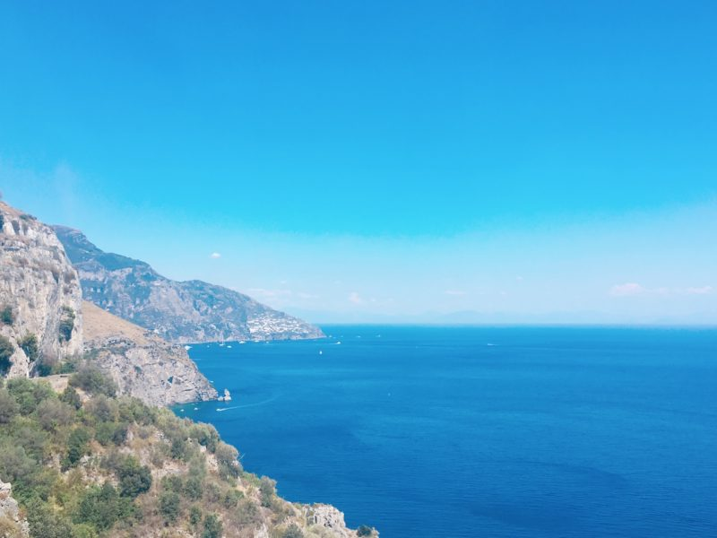 世界遺産のアマルフィ海岸