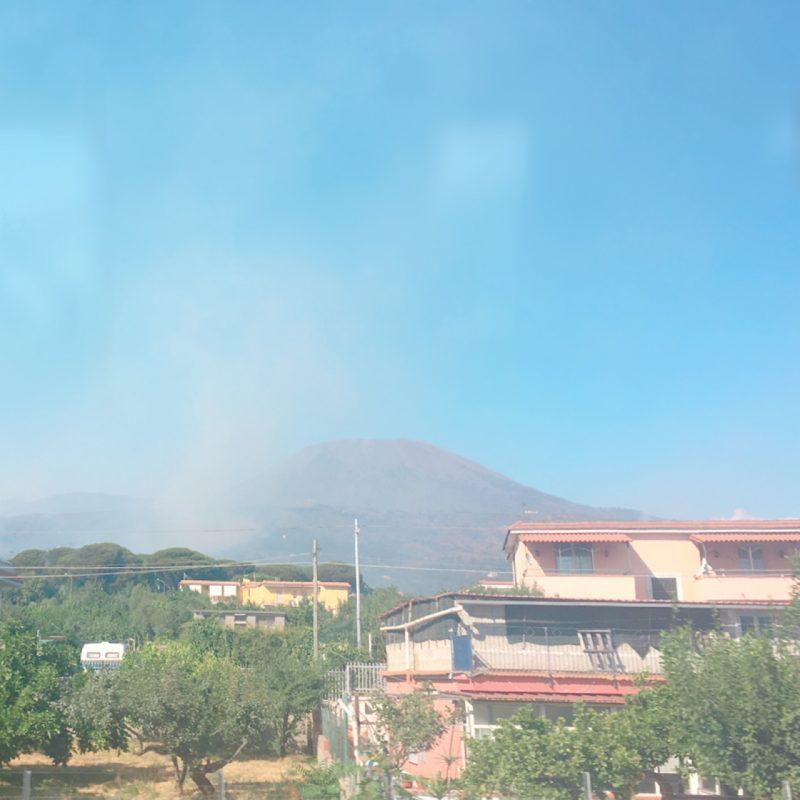 イタリアの火事