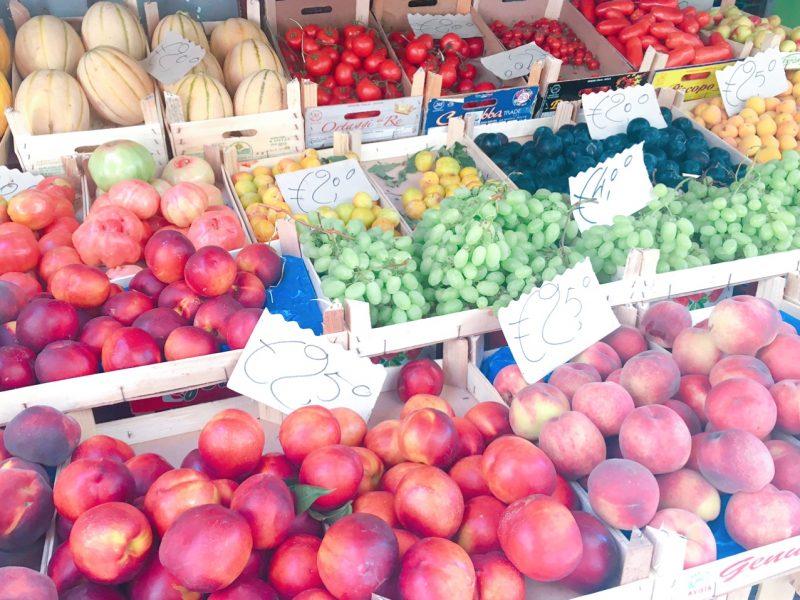 ソレントの果物屋さん