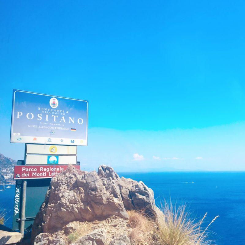 ポジターノの展望台