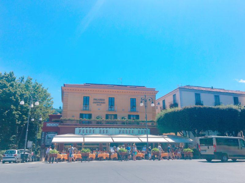 ソレントのタッソ広場