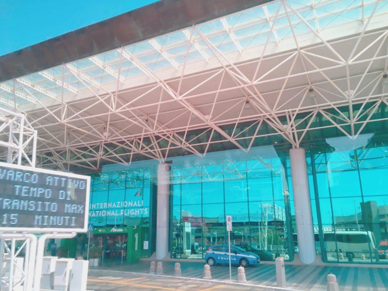 イタリアのフィウミチーノ空港