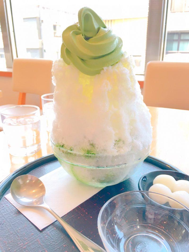 おすすめ京都の抹茶かき氷(京はやしや)