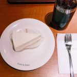 カフェドクリエのおすすめデザート♡レアチーズケーキ