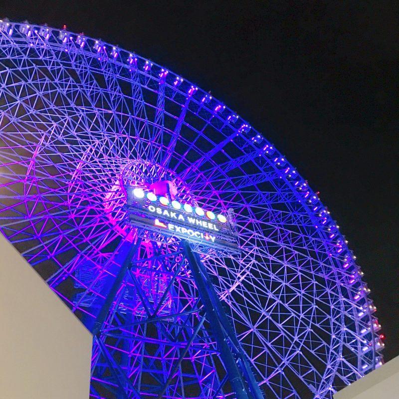 日本一高いエキスポシティの観覧車