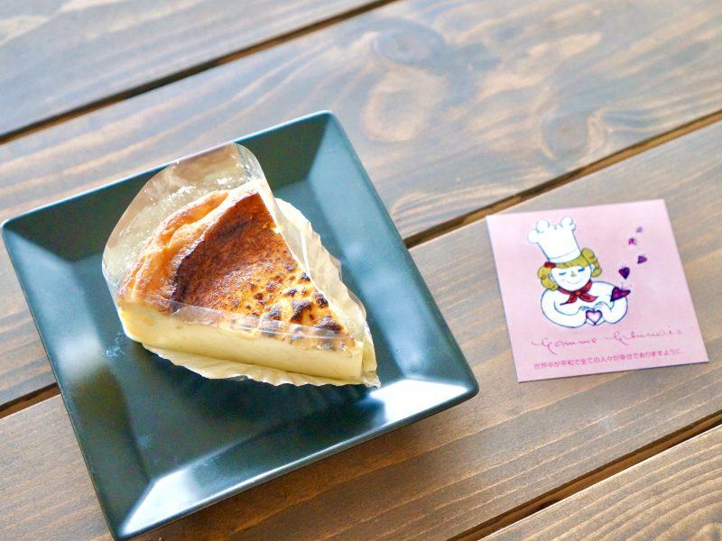 コムシノワのバスクチーズケーキ