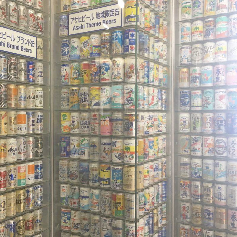 大阪アサヒビール工場見学に行ってきました*ワールドビアコレクション展示コーナー