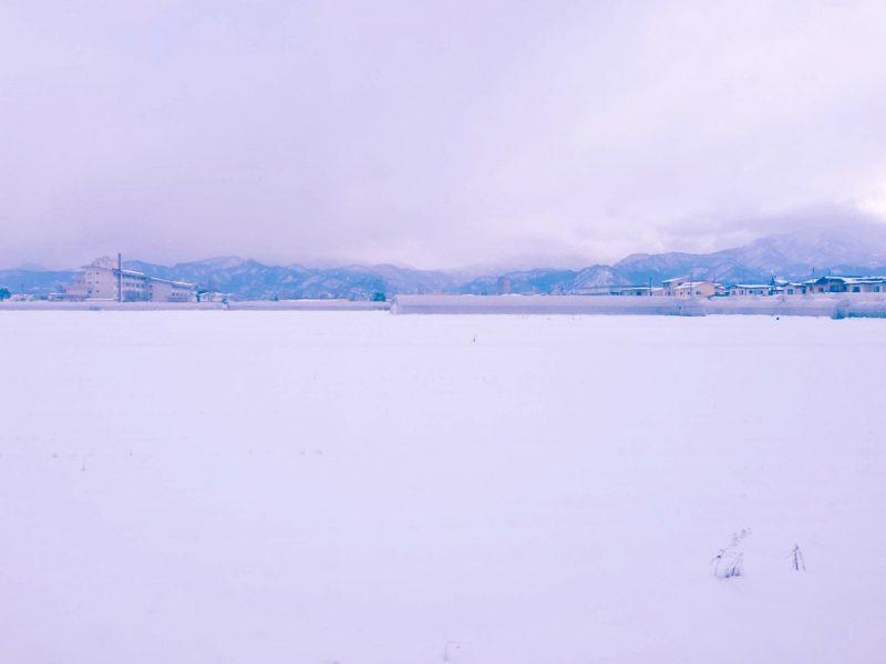 山形の冬景色