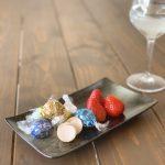 ダイエット中チョコを食べる時間帯(リンツといちご)