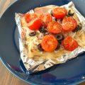 atsushiレシピ*『豆もやしとトマトの油揚げマヨピザ』をつくってみました♡