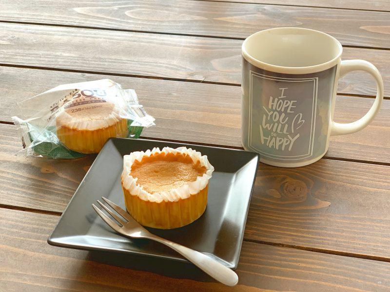 セブンスイーツ♡おいしいバスクチーズケーキ