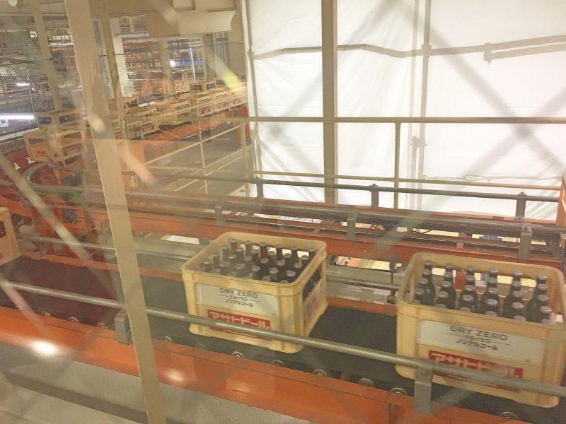 大阪アサヒビール工場見学に行ってきました*製造ライン