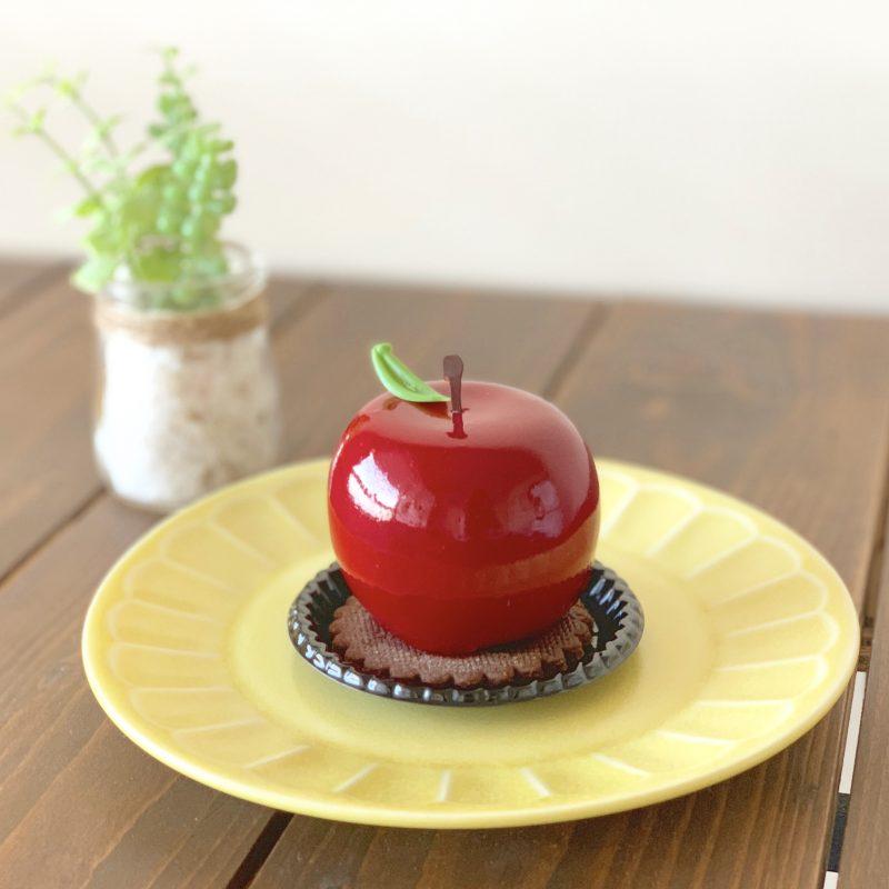 赤りんごのムースケーキがインスタ映え♡ケントハウス*大阪