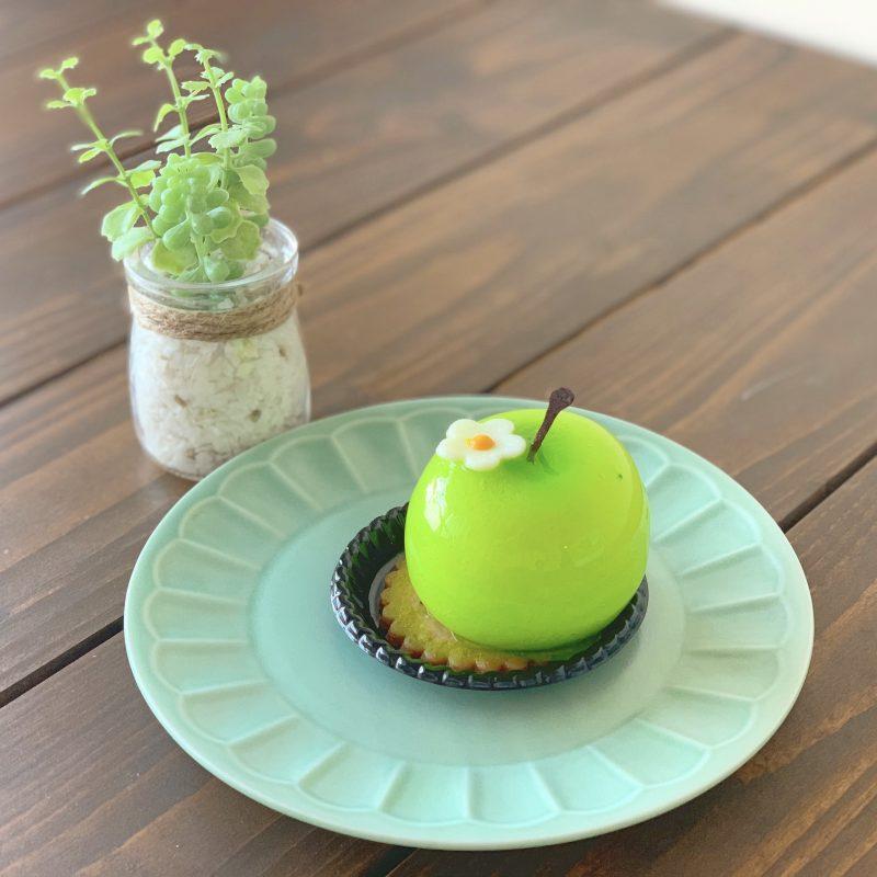 青りんごのムースケーキがインスタ映え♡ケントハウス*大阪