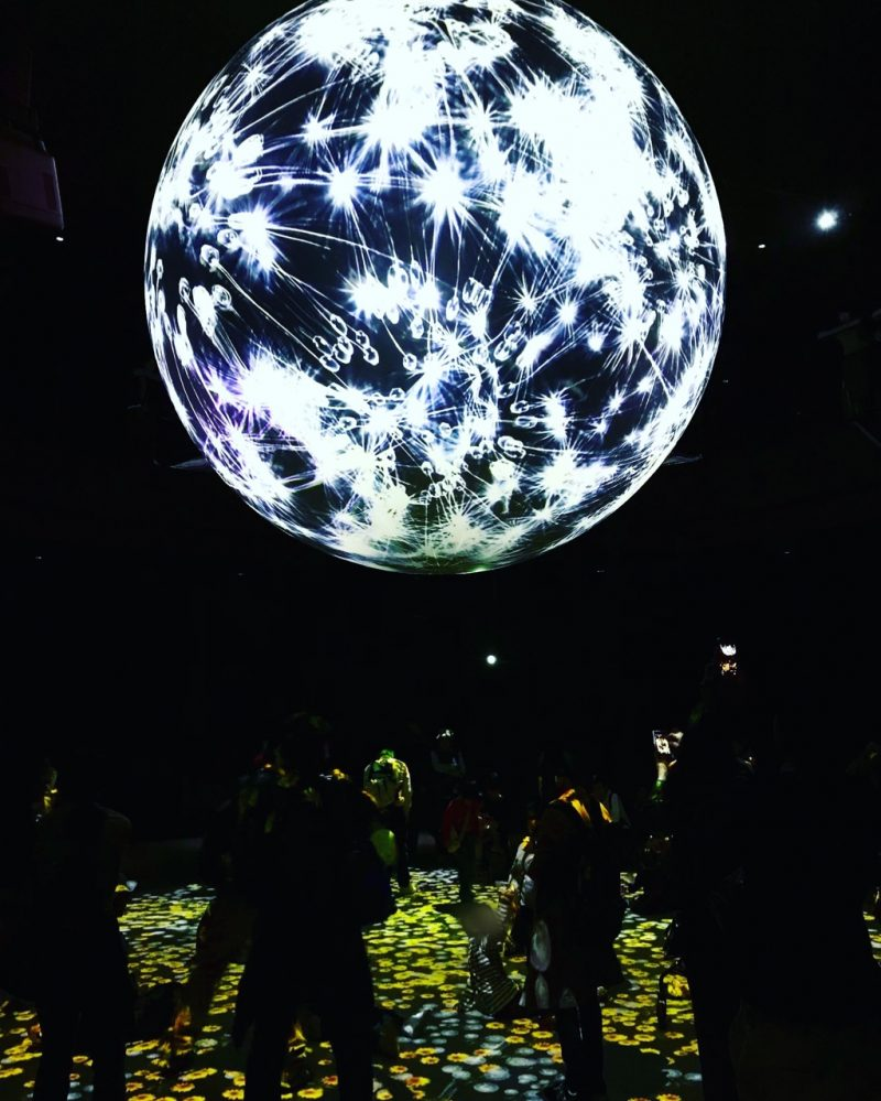 ニフレルのインスタ映えの宇宙空間