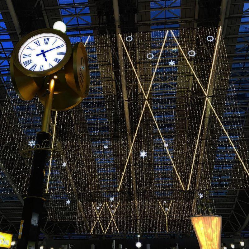 JR大阪駅『時空の広場』イルミネーション