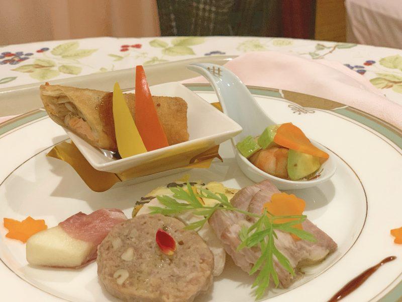 西川医院のフルコースディナー