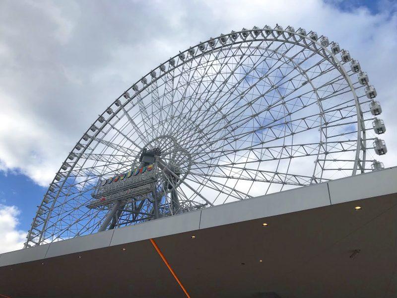 日本一高い大阪の観覧車『OSAKA WHEEL』