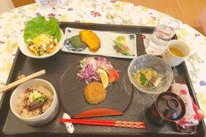 西川医院で無痛分娩!体験談*病院食3日目の昼ごはんのメニュー