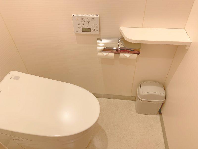 西川医院で無痛分娩!体験談*部屋(病室)のトイレ