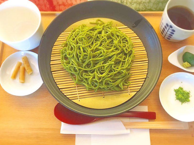 食べるべき♡中村藤吉宇治本店おいしい茶そば