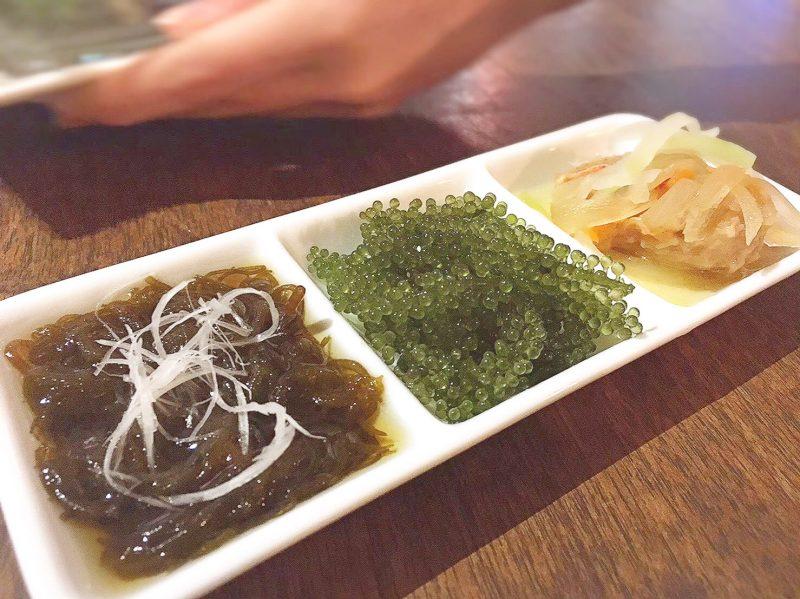 本町の沖縄創作ダイニング菜美らで沖縄料理を堪能♡