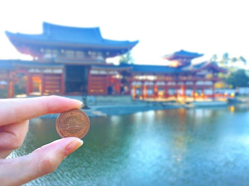 10円玉と平等院鳳凰堂