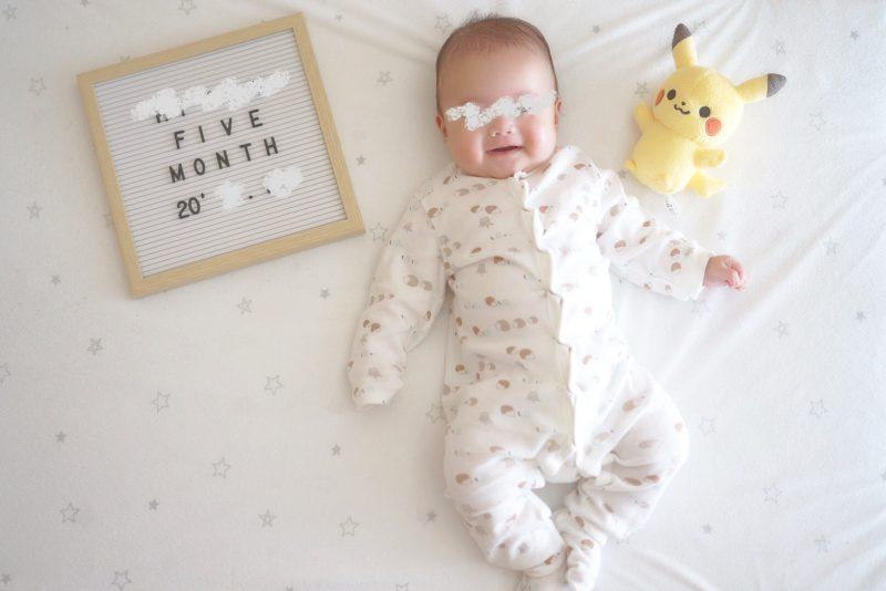 息子の成長記録(0歳4ヶ月~0歳5か月)