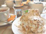 中之島カフェawakeのシフォンケーキ