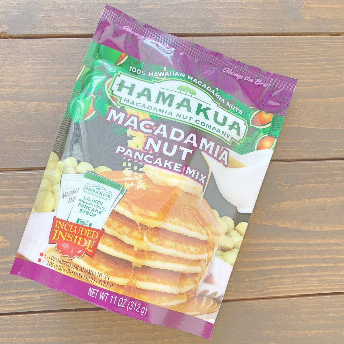 ハマクアマカダミアナッツのマカダミアパンケーキミックス(リリコイ)