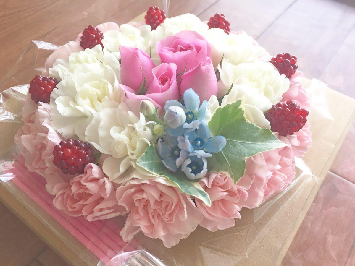 かわいい♡お花のケーキ