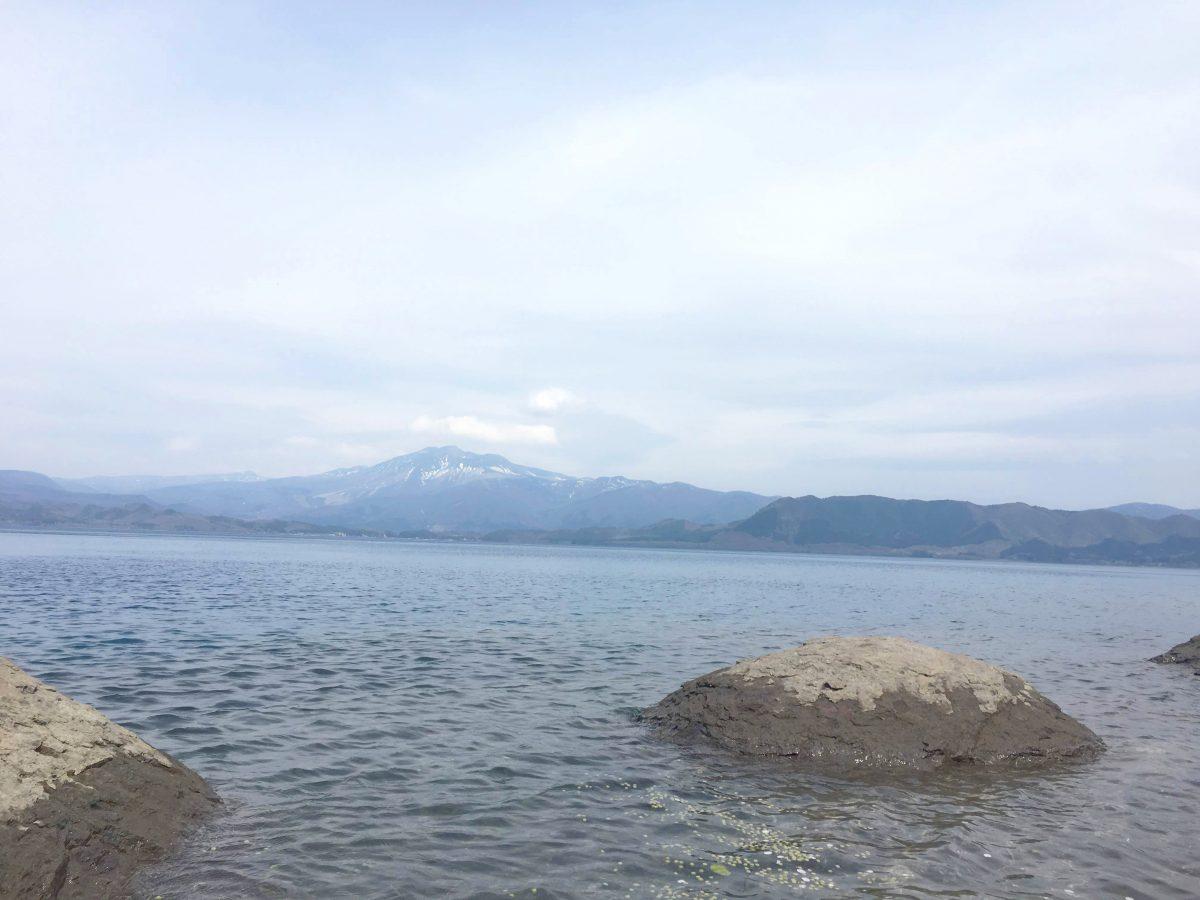 日本一の深さ田沢湖
