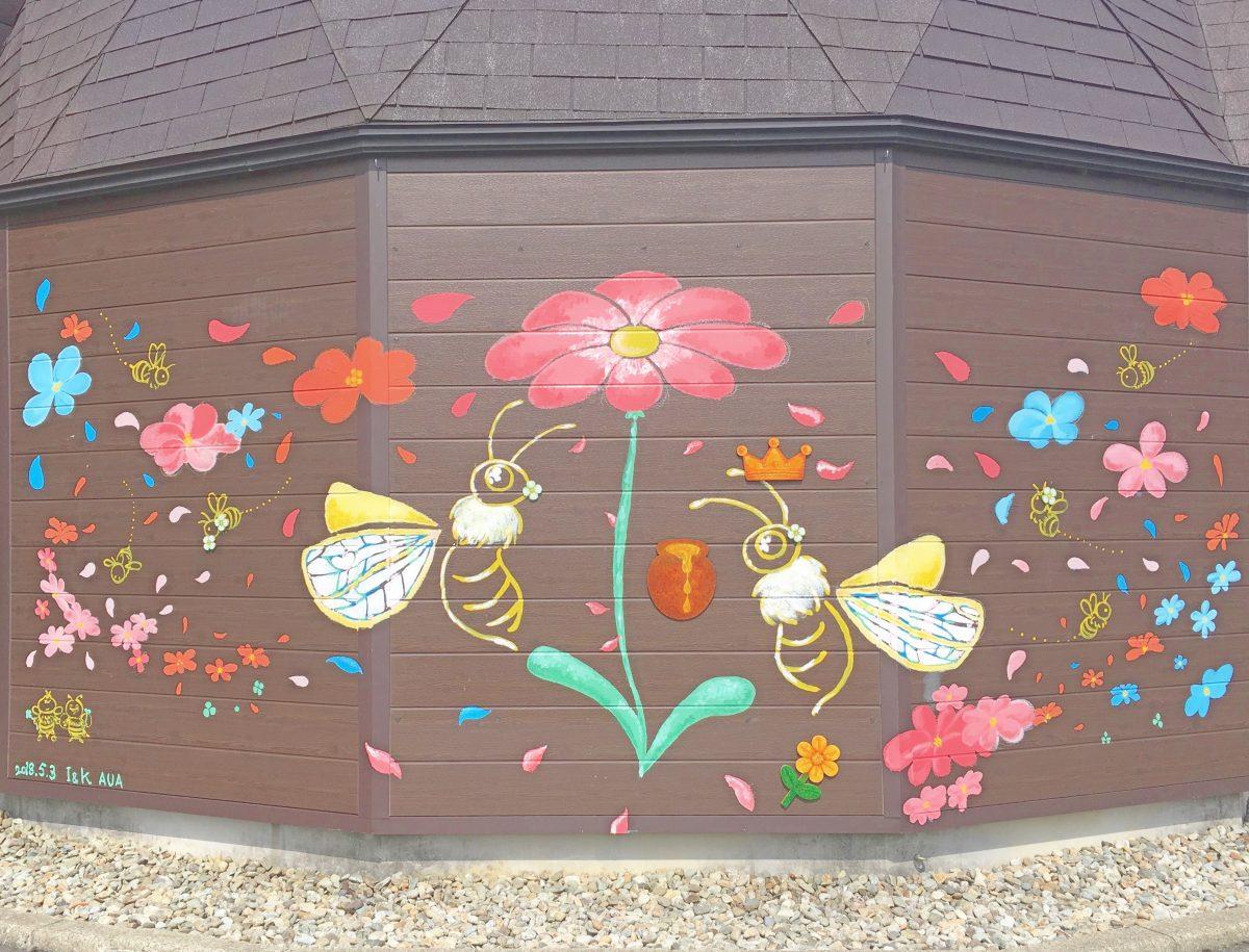 秋田♡ロンドンバスがある『山のはちみつ屋&Honey Bouquet (ハニーブーケ)』