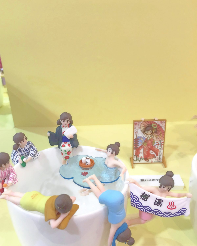 コップのフチ子展in仙台