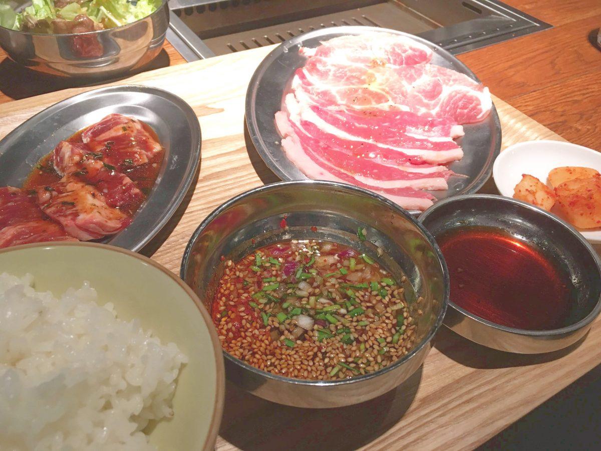 仙台で1000円以下の焼肉ランチ『肉源』