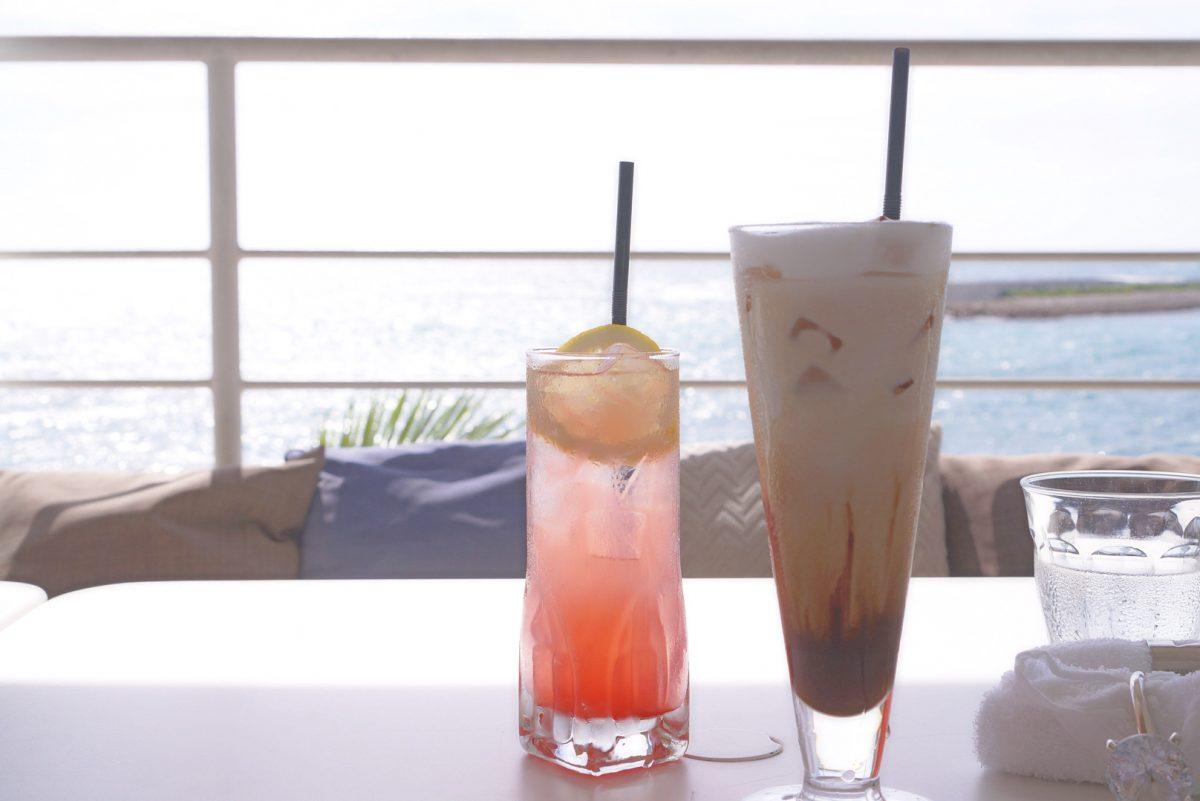 沖縄アメリカンビレッジのおすすめカフェ『波音』