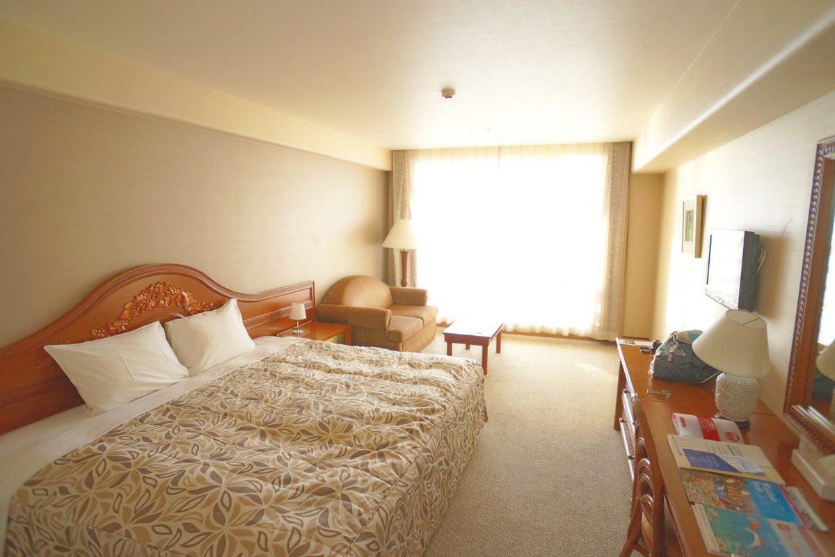 リザンシーパーク茶谷ベイホテルのオーシャンビューのお部屋