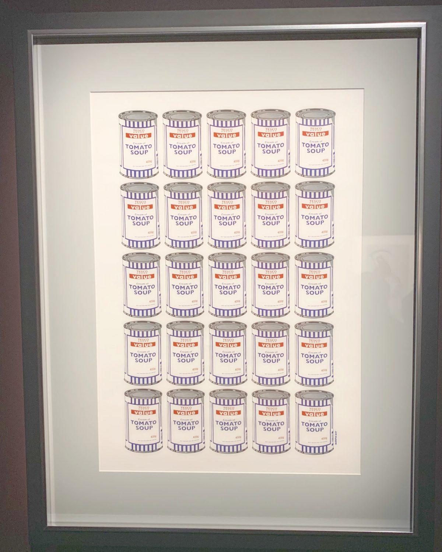 バンクシー展スープ・カンズ