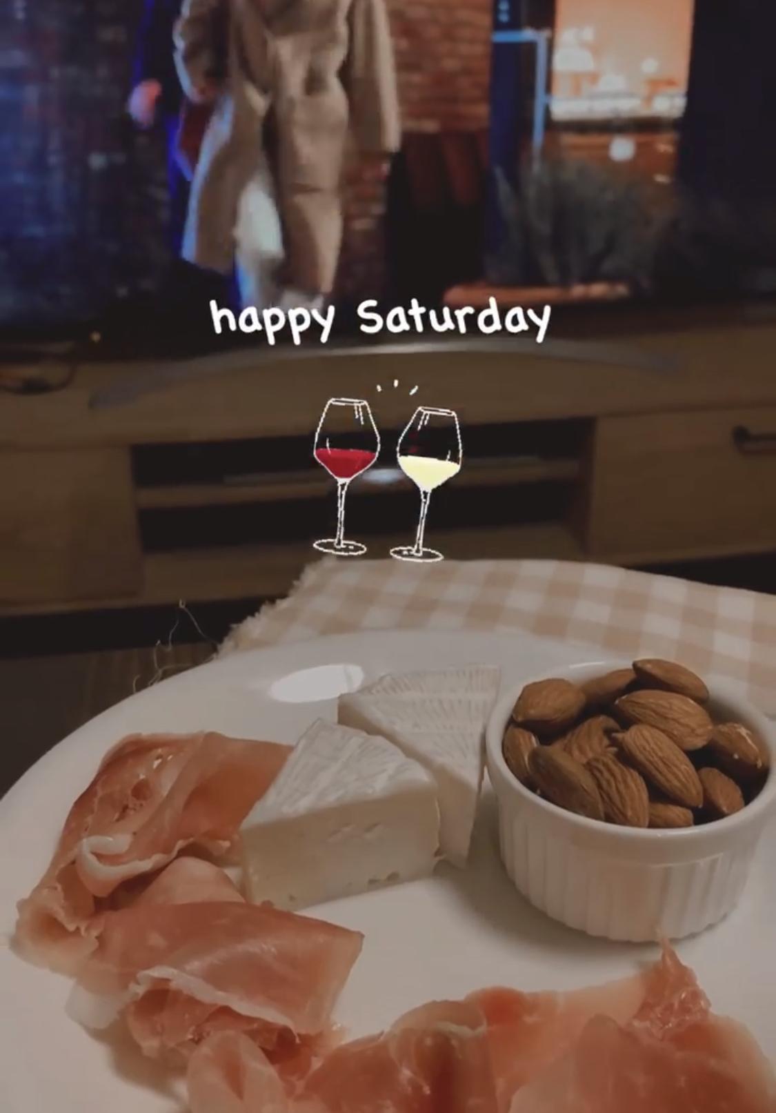 韓国ドラマと白ワイン