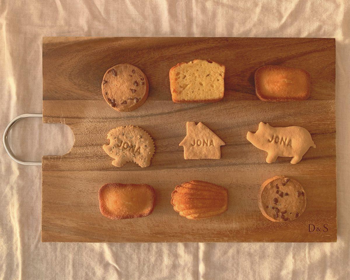 パティスリージョナのかわいいクッキー