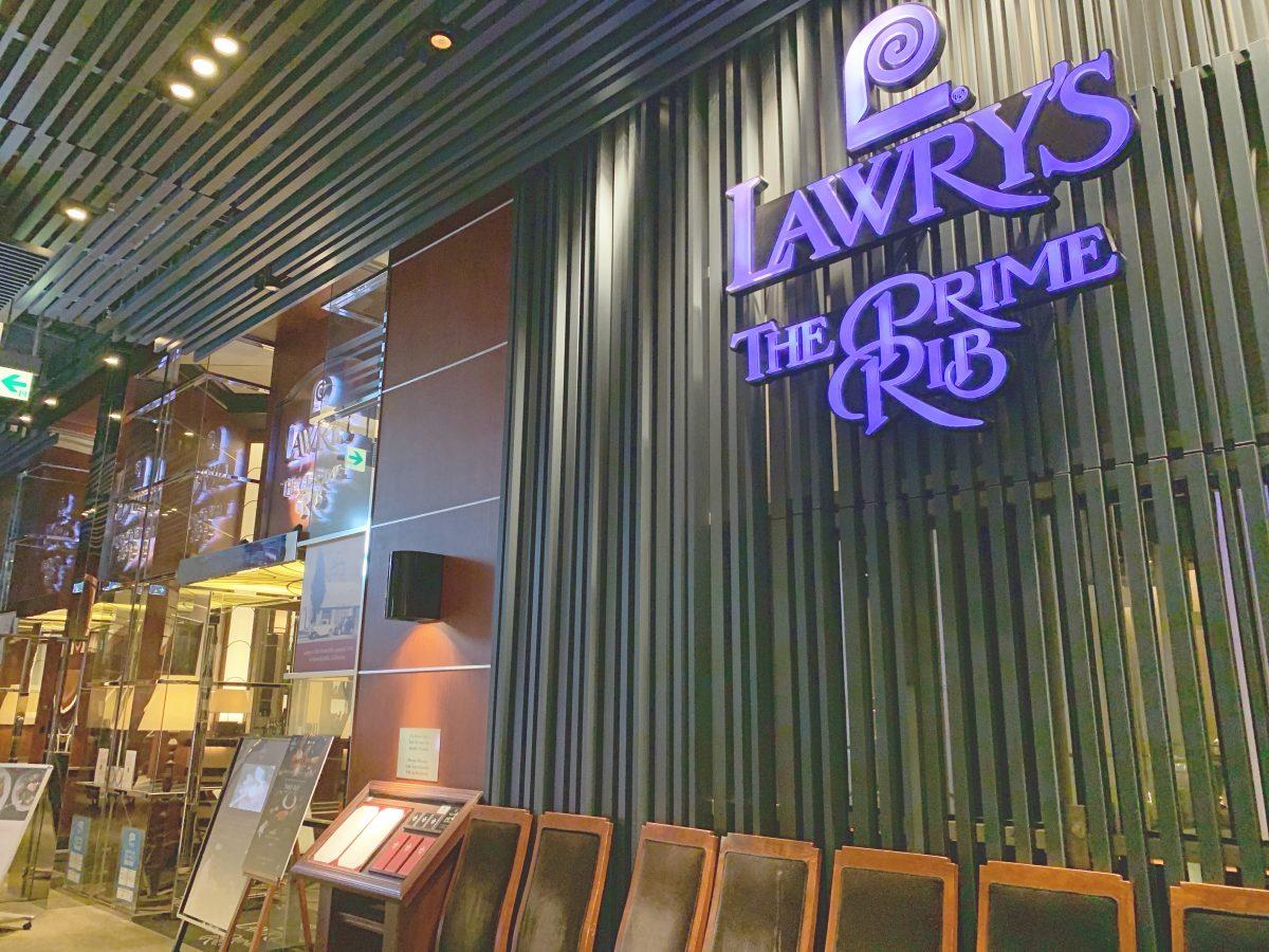 子連れディナー☆梅田の『ロウリーズ・ザ・プライムリブ大阪』に行ってきました♪