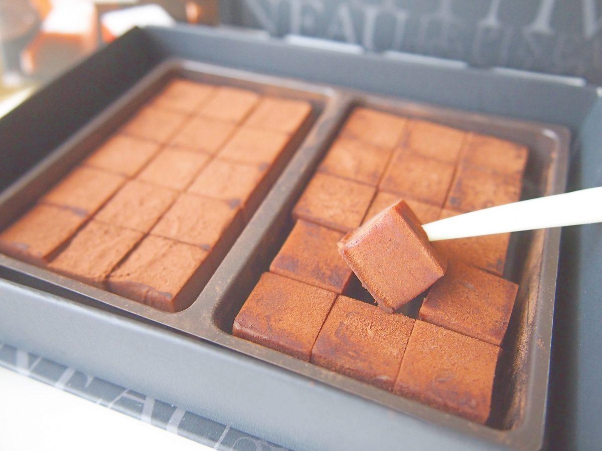 北堀江のおいしいケーキ屋さん『ル・ピノー』の生チョコ