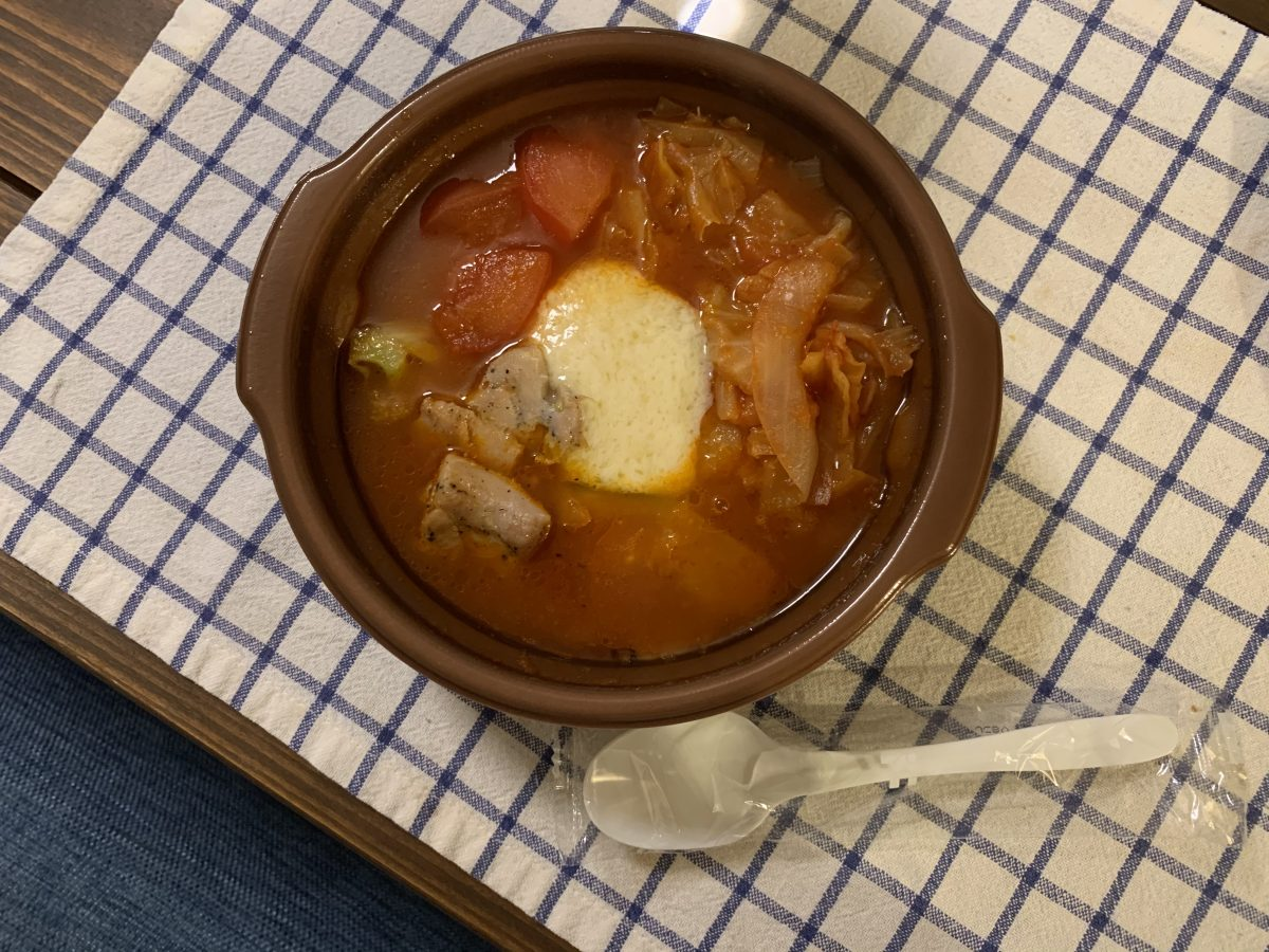 セブンのトマトチーズスープ