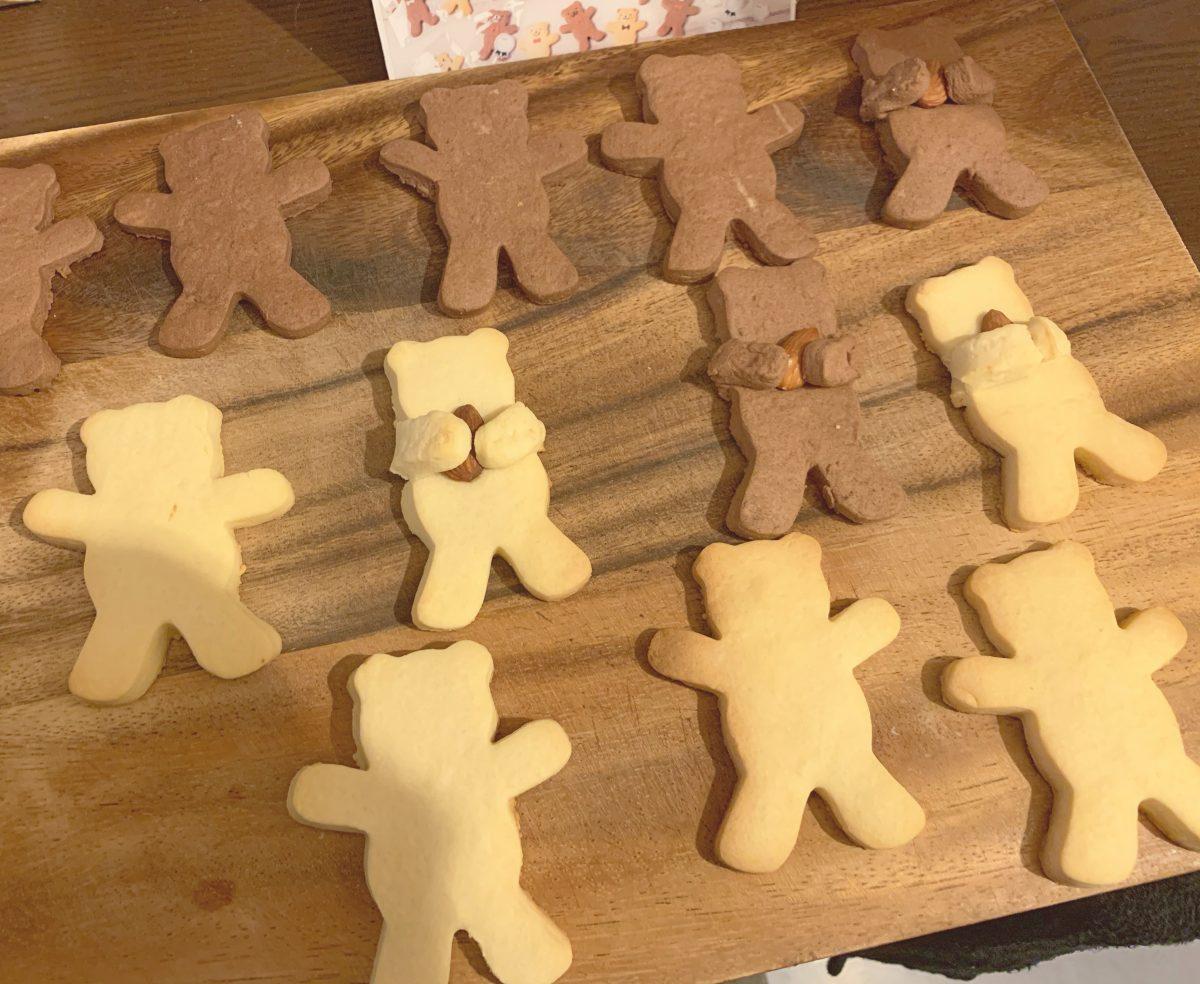 20個つくれるくまクッキーキット