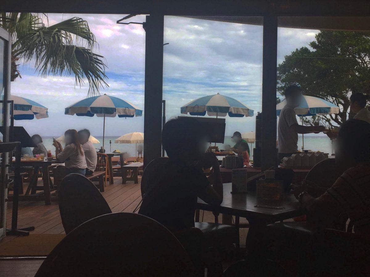 リザンシーパークホテル谷茶ベイの朝食バイキングと朝散歩